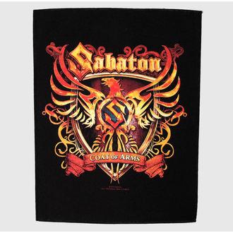 Großer Aufnäher     Sabaton - Coat Of Arms - RAZAMATAZ, RAZAMATAZ, Sabaton