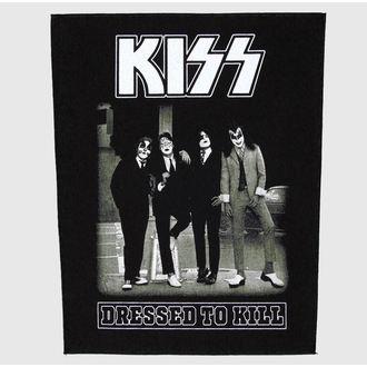 Großer Aufnäher     Kiss - Dressed To Kill - RAZAMATAZ, RAZAMATAZ, Kiss