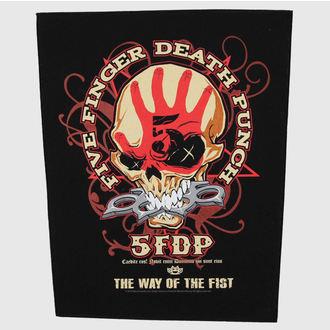 Großer Aufnäher     Five Finger Death Punch - Way Of The Fist - RAZAMATAZ, RAZAMATAZ, Five Finger Death Punch