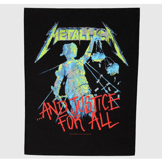 Großer Aufnäher     Metalllica - And Justice For All, RAZAMATAZ, Metallica