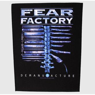 Großer Aufnäher     Fear Factory - Demanufacture - RAZAMATAZ, RAZAMATAZ, Fear Factory