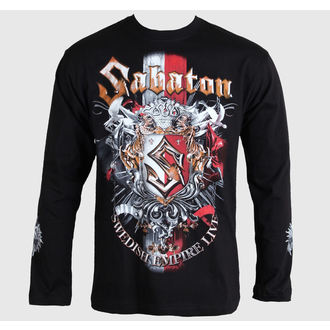 Herren Longsleeve Sabaton -Swedisch Empire Live - Black - CARTON, CARTON, Sabaton