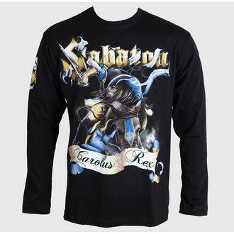 Herren Langarmshirt  Sabaton - Carolus Rex - Black - CARTON, CARTON, Sabaton