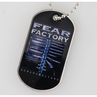 Dog Tag  Fear Factory - Demanufacture - RAZAMATAZ, RAZAMATAZ, Fear Factory