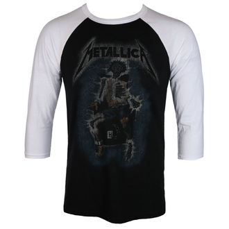 Herren T-Shirt METALLICA - ELECTRIC CHAIR Baseball - BLACK - LIVE NATION - PEMTL101