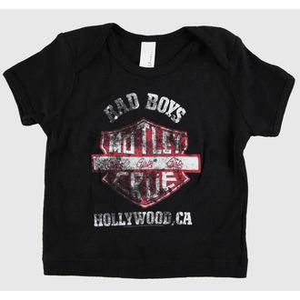 Kinder T-Shirt  Mötley Crüe - Bad Boys Shield Toddler - ROCK OFF, ROCK OFF, Mötley Crüe