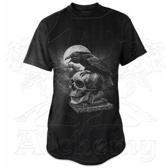 Herren T-Shirt   ALCHEMY GOTHIC - Poe's Raven, ALCHEMY GOTHIC