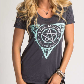 Damen T-Shirt  METAL MULISHA - THE FINEST, METAL MULISHA