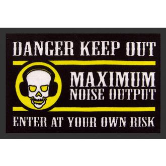 Fußmatte ROCKBITES - Danger Keep Out, Rockbites