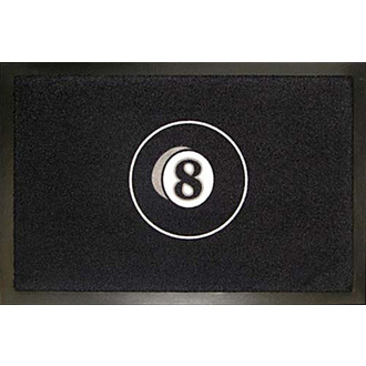 Fußmatte ROCKBITES - 8 Ball, Rockbites