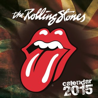 Kalender 2015 ROLLING STONES, NNM, Rolling Stones