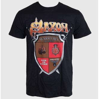 Herren T-Shirt SAXON - ANNIVERSARY - BLACK - LIVE NATION, LIVE NATION, Saxon