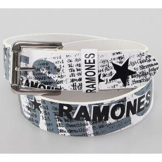 Gürtel Ramones - White - Bioworld, BIOWORLD