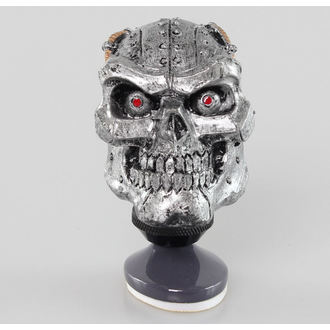 Dekoration (  Schaltknauf) LETHAL THREAT - Cyborg Skull Shift Knob/Dash Topper, LETHAL THREAT