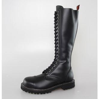 Lederstiefel/Boots KMM 20 Loch - Black, KMM