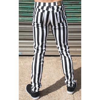 Herren Hose  3RDAND56th - Stripe Skinny - Blk/WHT