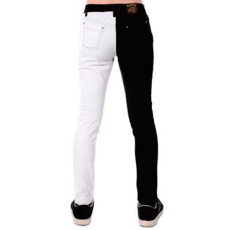 Herren Hose 3RDAND56th - Split Leg Skinny - BLK/WHT