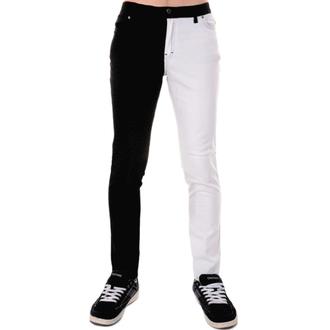 Herren Hose 3RDAND56th - Split Leg Skinny - BLK/WHT, 3RDAND56th