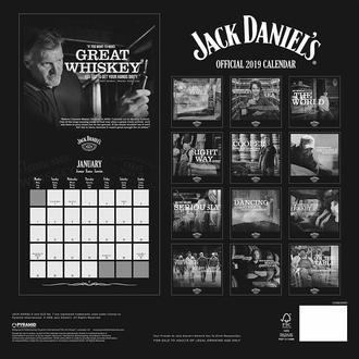 Wandkalender 2019 JACK DANIELS, JACK DANIELS