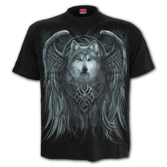 Herren T-Shirt - WOLF SPIRIT - SPIRAL - T167M101