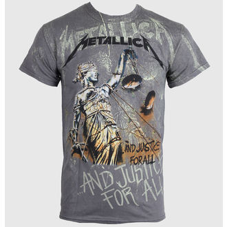 Herren T-Shirt Metalllica - Justice Neon All - Over Premium - LIVE NATION - PEMTL0990