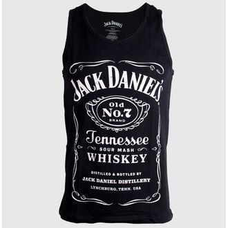 Herren Tank Top Jack Daniels - Black, JACK DANIELS