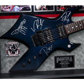 Gitarre mit Unterschrift Pantera - ANTIQUITIESCA, ANTIQUITIES CALIFORNIA, Pantera