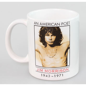 Keramiktasse The Doors - American Poet - ROCK OFF, ROCK OFF, Doors