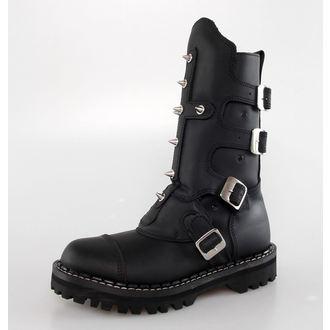 Lederstiefel/Boots KMM  - 4P - Black, KMM