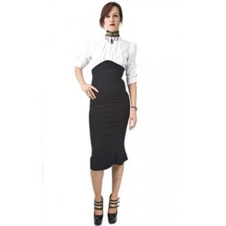 Damen Rock  NECESSARY EVIL - Lyssa High Waisted - Black, NECESSARY EVIL