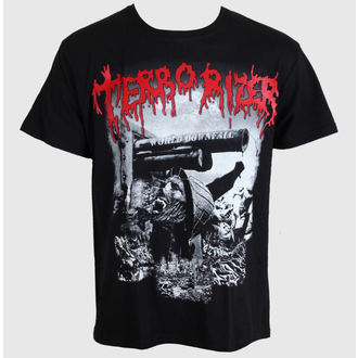 Herren T-Shirt Terrorizer - World Downfall - MASSACRE RECORDS, MASSACRE RECORDS, Terrorizer