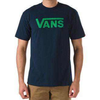 Herren T-Shirt VANS - CLASSIC - Navy/Kelly Green, VANS