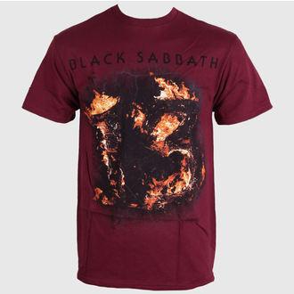 Herren T-Shirt   Black Sabbath - Twe Maroon - Red - BRAVADO, BRAVADO, Black Sabbath