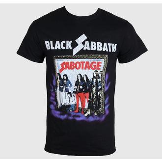 Herren T-Shirt   Black Sabbath - Sabotage - Black - BRAVADO, BRAVADO, Black Sabbath