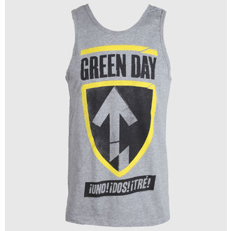 Herren Tank Top Green Day - Tre Badge - BRAVADO, BRAVADO, Green Day