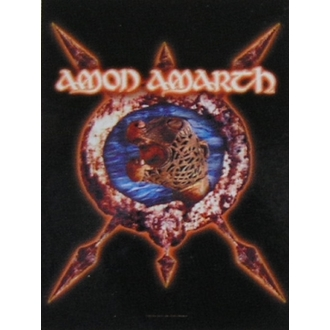 Fahne Amon Amarth HFL 828, HEART ROCK, Amon Amarth