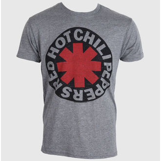 Herren T-Shirt  Red Hot Chili Peppers - Asterisk Circle - BRAVADO, BRAVADO, Red Hot Chili Peppers