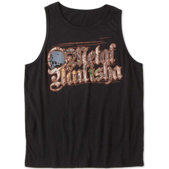 Herren Tanktop METAL MULISHA - THREAT - BLK