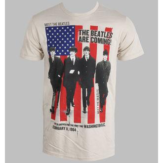 Herren T-Shirt   Beatles - Are Coming Sand - BRAVADO