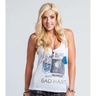 Damen Tanktop METAL MULISHA - GOOD GIRL BAD Habits, METAL MULISHA