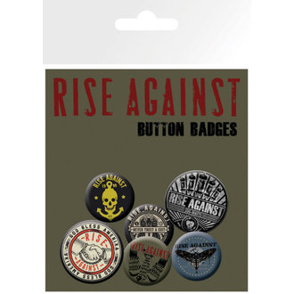 Buttons Rise Against - Shaking  Hands - GB Posters, GB posters, Rise Against