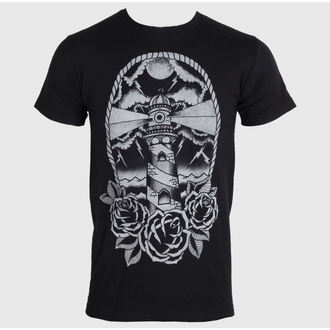 Herren T-Shirt   BLACK MARKET - Adi - Light House, BLACK MARKET