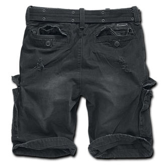 Herren Shorts  Brandit - Shell Valley Heavy Vintage - Black, BRANDIT