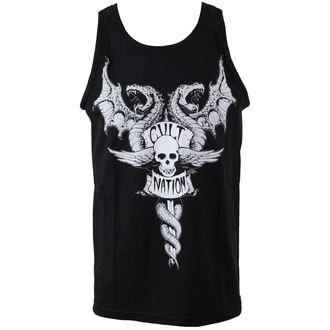 Herren Tanktop CVLT NATION - Doom Town - Black, CVLT NATION