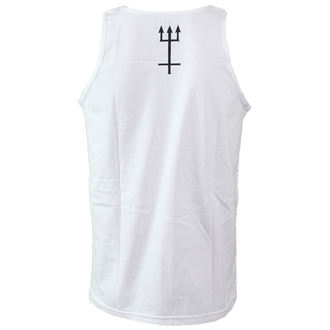 Herren Tanktop CVLT NATION - Antichrist - White, CVLT NATION
