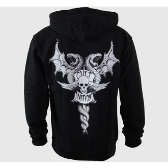Herren Hoodie CVLT NATION - Doom Town - Black, CVLT NATION