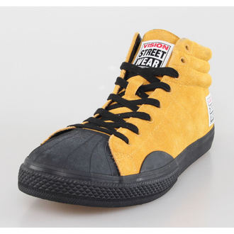 Herren Schuhe VISION - Suede HI - Mustard/Black, VISION