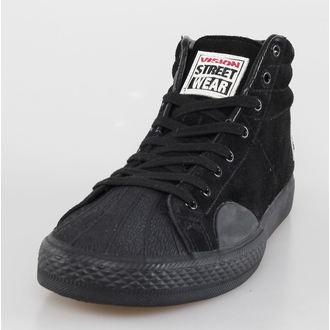 Herren Schuhe VISION - Suede HI - Black/Black, VISION