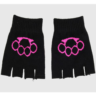 Fingerlose Handschuhe  Magic - Black/Pink