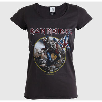 Damen T-Shirt  AMPLIFIED - Iron Maiden - Charcoal, AMPLIFIED, Iron Maiden